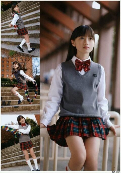 橋本環奈のセーラー服・学生服画像 3枚目