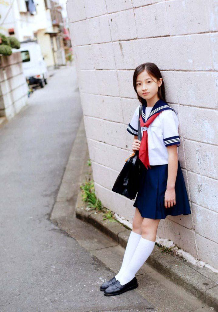 橋本環奈のセーラー服・学生服画像 4枚目