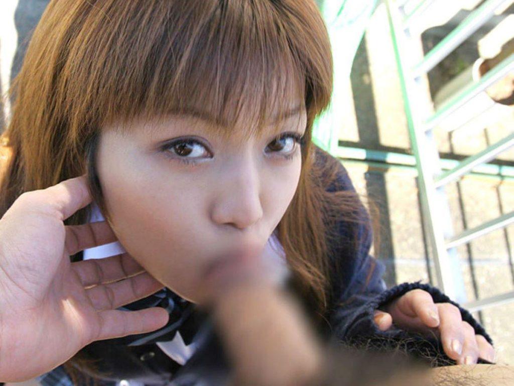 JK・女子高生のフェラチオ・手コキ画像 11枚目