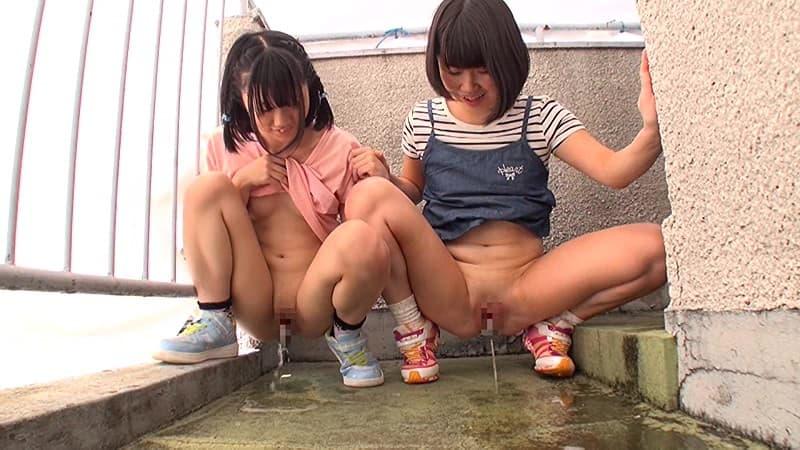 JS(小●生)のおしっこ・放尿画像 1枚目
