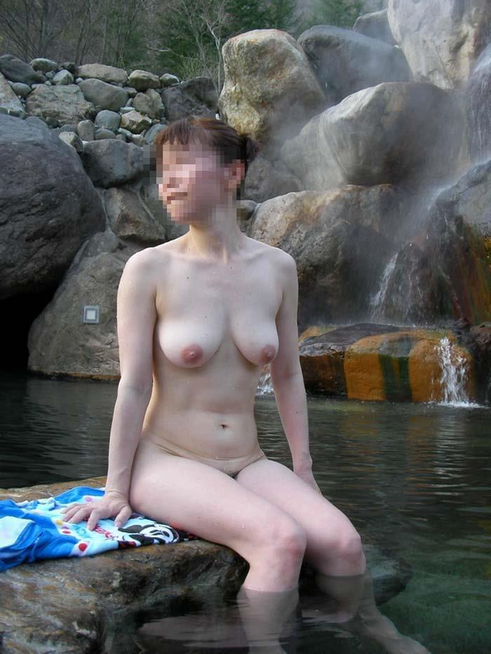 素人のお風呂・温泉・露天風呂画像 3枚目